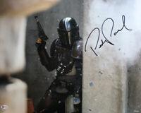 Pedro Pascal Autographed The Mandalorian 16x20 Photo Star Wars BAS 28182 PF