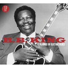 B.B. KING - B.B.KING & KINGS OF THE ELECTRIC BLUES 3 CD NEW!