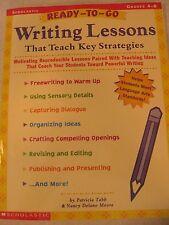 TEACHERS: Ready-to-Go Writing Lessons That Teach Key Strategies (Grades 4-6)
