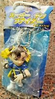 Chun Li Puzzle Fighter Keychain Figure Street Pocket Collection Game Capcom Gem