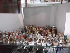 wertvolle Miniaturensammlung Eulen Uhu Kauz Käuzchen über 130 Stück viel Goebel