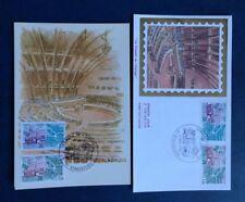 R918. Enveloppe et carte-maxi premier jour. Le Conseil de l'Europe. 1982