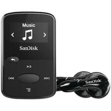 Sandisk Sansa Clip Jam 8GB MP3 Player Black with FM Radio Micro SD slot