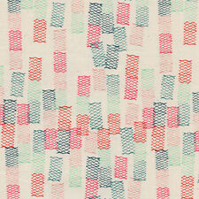BTY~ COTTON+STEEL 100% COTTON FABRIC~ PAPER CUTS ~ TOAMI ~ SPEARMINT ~ 45