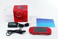 Sony PSP 3000 Launch Edition Red Handheld System Console w/ Box [Excellent]