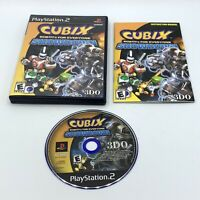 Cubix: Robots for Everyone Showdown (Sony Playstation 2 PS2) Complete CIB