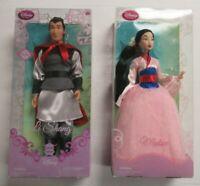 Disney Store Disney's Mulan & Li Shang Dolls