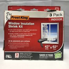 Frost King WIndow Insulation Shrink Kit, 3 pack