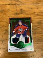 2015-16 Upper Deck Artifacts AARON EKBLAD Dual Patch /49 *Panthers
