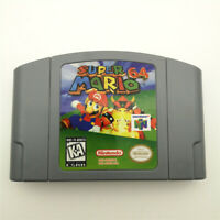Super Mario 64 Video Game Cartridge for Nintendo 64 N64 Console US Version Gift