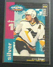 1995-96 Collector's Choice JAROMIR JAGR Crash the Game Silver 12/17 Penguins