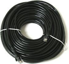 30M METERS ETHERNET CABLE RJ45 NETWORK FAST INTERNET LEAD PREMIUM CAT5E BLACK
