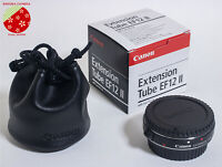 ●Mint Genuine Canon EXTENSION TUBE EF12 II for Canon EF-S Mount Lens from Japan●