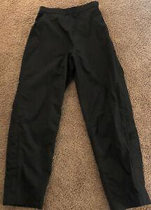 FootJoy Womens DryJoys Pants Small Black Rain Gear Water Resistant