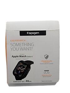 Spigen Apple Watch Series 4 (44mm)rugged Armor Black