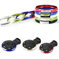 For BMW Mini Cooper Aluminum Alloy Car Vehicle Key Ring Trim Chain 9 Colors