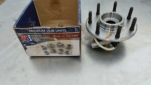 Front Wheel Hub & Bearing 4WD Fits 1997 to 2002 Ford F-150 F-250 Truck With ABS