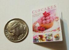 Miniature dollhouse Martha Stewart Cook Book Barbie 1/12 Scale  Baking Cup cake
