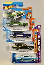 Hot Wheels Muscle Mania - 69 Dodge Charger - 4 Variations 2017, 2018 & 2007