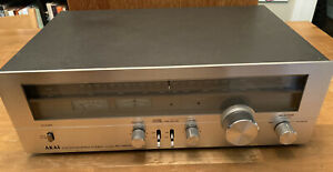 Akai AT-2650 Stereo Tuner Vintage Made In Japan 1979 Tested/Working (c Descrip)