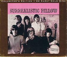 Jefferson Airplane Surrealistic Pillow RCA 24 Karat Gold CD
