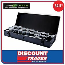 "Typhoon Tools 27 Piece 3/4"" Drive Socket Set Metric / Imperial - 70015"