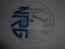 """12"""" Ty Benskin - Love's  Memories- Promo"""