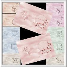 A5 tutti i assortiti Lusso Farfalla Compleanno inserti x12 Blank - 12 con i saluti
