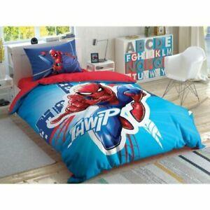 Kids 100% Cotton Bedding Set 3pcs Duvet Cover, Sheet, Pillowcase / 160cm X 220cm