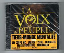 LA VOIX DU PEUPLE - TIERS-MONDE MENTALITÉ - 15 TRACKS - 2010 - NEUF NEW NEU