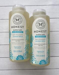 The Honest Co. Bubble Bath Purely Sensitive Tear Free 12 oz Fragrance Free