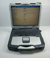 PANASONIC CF-30 TOUGHBOOK CORE 2 DUO 1.6 LAPTOP RUGGED No HHD/Caddy 2GB Computer