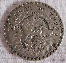 ANTIQUE AMERICAN COIN SILVER,COURT OF PROBATE,PROVIDENCE,RI, WM. HAMLIN,c.1800