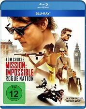 MISSION: IMPOSSIBLE, ROGUE NATION (Tom Cruise) Blu-ray Disc NEU+OVP