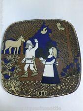 Arabia Finland Kalevala Annual Plate - 1991