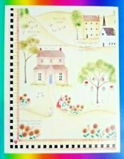 Vintage Dayspring Cards Country Side Religious Phrases Sticker Sheet