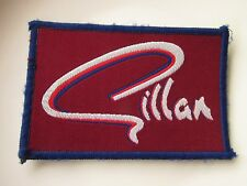 GILLAN VINTAGE SEW ON PATCH FROM THE 1970's/80's MR UNIVERSE DEEP PURPLE ROCK
