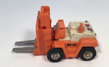 Bandai Gobots Spoons Enemy Robot Forklift Transformers