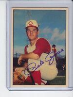 Pete Rose '63 Cincinnati Reds rookie season MC#164 tribute card
