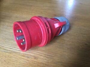 Industrial Plug 220/380V 250/415V 16A-6h. 3P+N+E. PCE IP44, From Austria