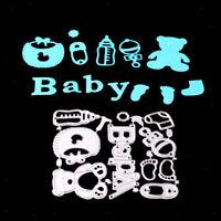 Baby Zubehör Stanzschablone Prägeschablonen Stanzformen Scrapbooking Embossing