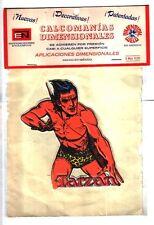 #1 -- Unopened Mexican Burne Hogarth TARZAN 3-D sticker