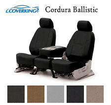 Coverking Custom Seat Covers Ballistic Canvas Front Row - 5 Color Options