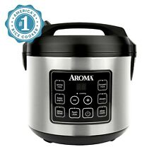 Non Stick Rice Cooker Digital Electric Aroma Automatic 20 Cup Steamer Slow Cook