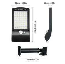 36 LEDs Solar Powered Wall Light PIR Motion Sensor Outdoor IP65 W5U7
