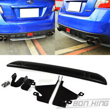 2015 Unpaint For Subaru WRX STI 4DR Rear Bumper Under Lip Spoiler Diffuer New