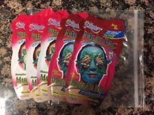 Lot of 5 Montagne Jeunesse, Cucumber Peel Off Masks & Dead Sea Mud Pac - New