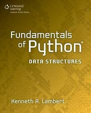 Fundamentals of Python: Data Structures by Lambert, Kenneth