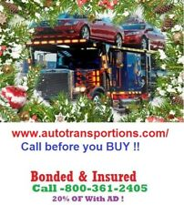 Florida Towing &  auto transport nationwide shipping 10% OF 800-346-8705