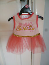 BNWT, DARK PINK TUTU FOR CHIHUAHUA, YORKIE etc FROM WAG-A-TUDE -  EXTRA SMALL